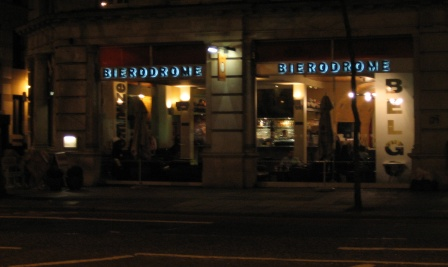 Bierodrome, Kensington St. London